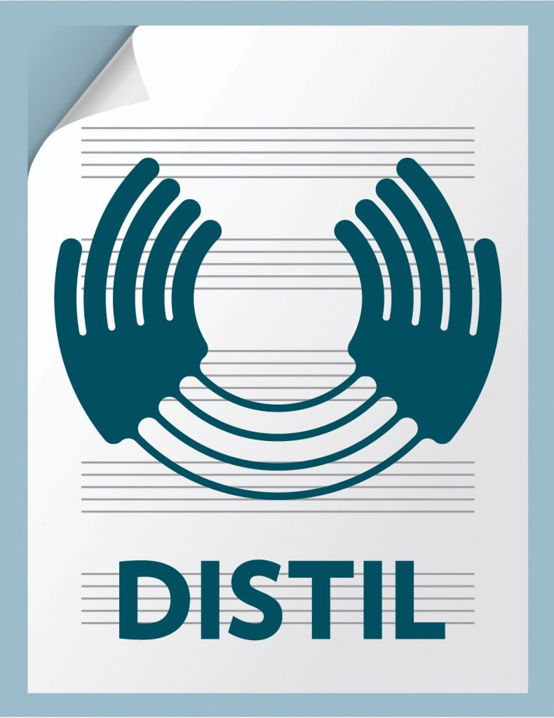 Distil : A Hands up for Trad Project