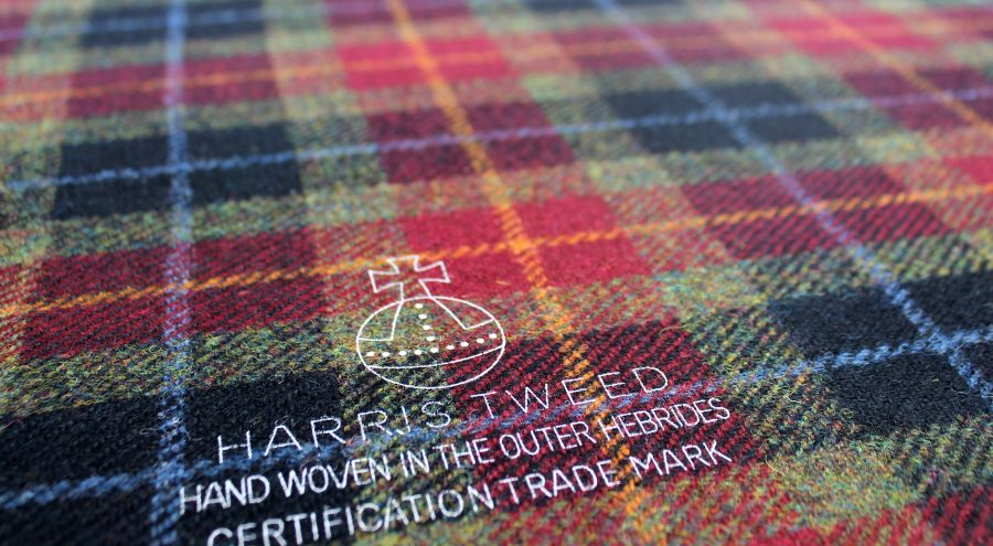 Image copyright of The Harris Tweed Authority
