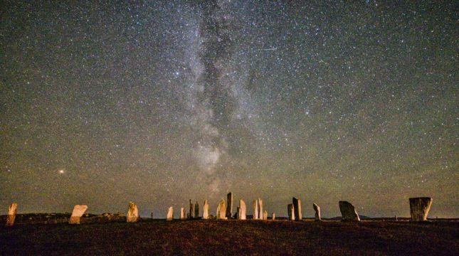Callanish and The Milky Way by Emma Rennie